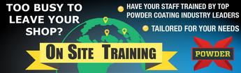powder coater training