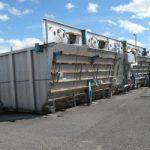 used pretreatment system