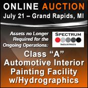 auction finishing equipment